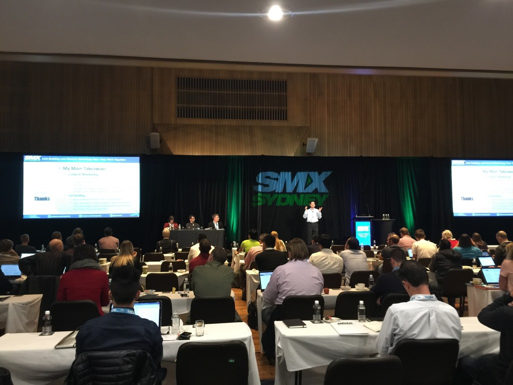 SMX Sydney - Benj Arriola