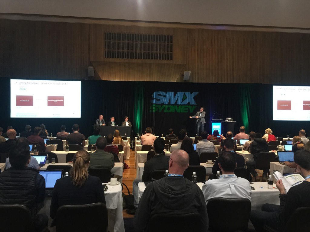 SMX Sydney 2015 - Jonas Weber